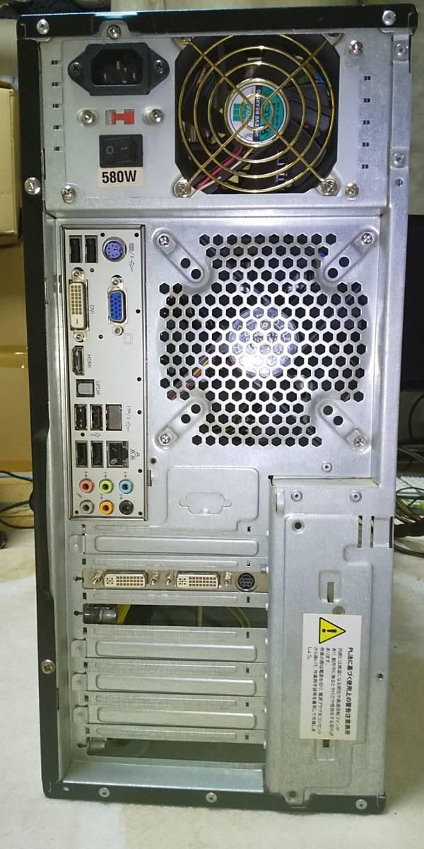 【ジャンク】自作デスクトップ Phenom II X2 550 GeForce 9800 GT メモリ4GB【電源入りませんでした】 _画像3