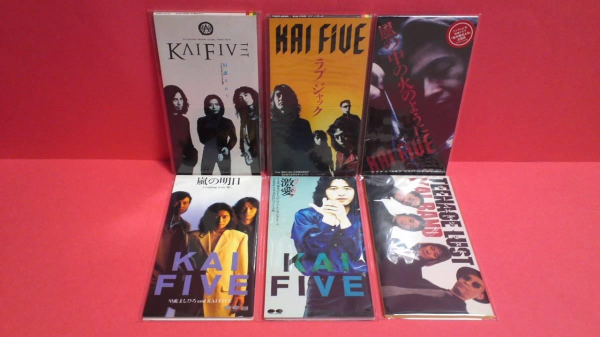 甲斐よしひろ・TK PRESENTS・KAI FIVE・甲斐バンド 8cm(8センチ)シングル16枚セット_画像2
