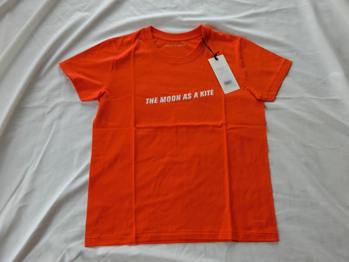 upper hights(アッパーハイツ) THE MOON TEE オレンジ 1サイズ 新品未使用タグ付き_画像1