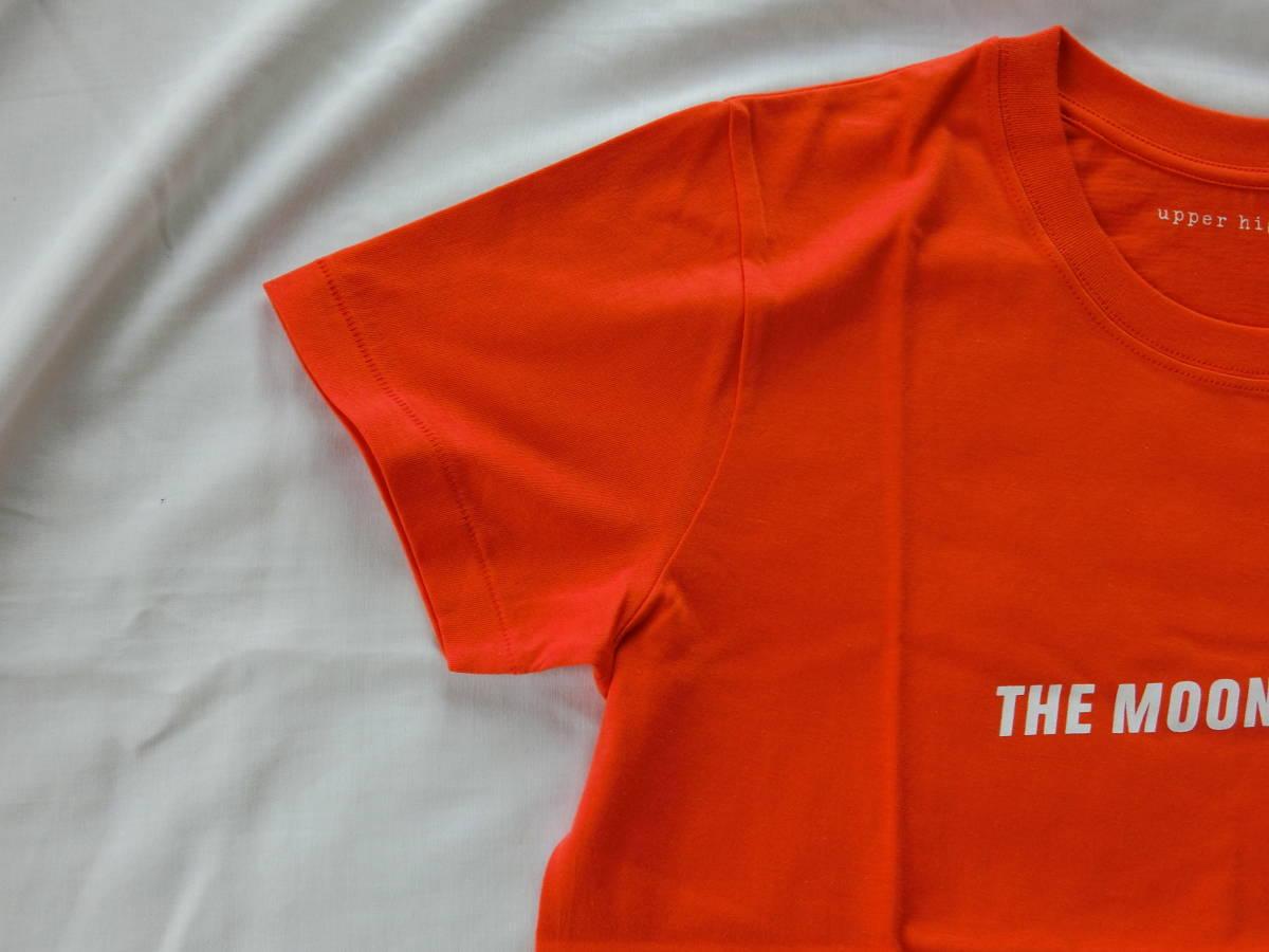 upper hights(アッパーハイツ) THE MOON TEE オレンジ 1サイズ 新品未使用タグ付き_画像5