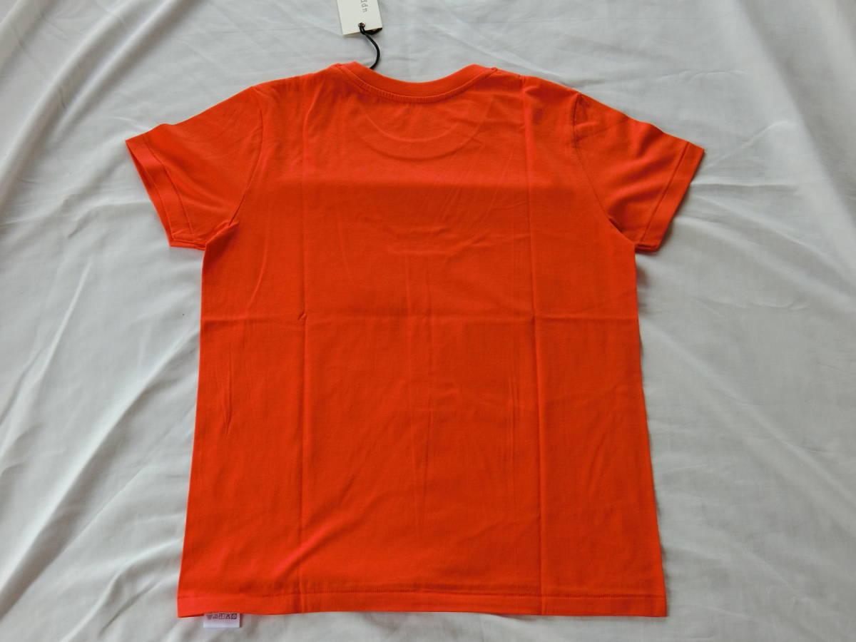 upper hights(アッパーハイツ) THE MOON TEE オレンジ 1サイズ 新品未使用タグ付き_画像7