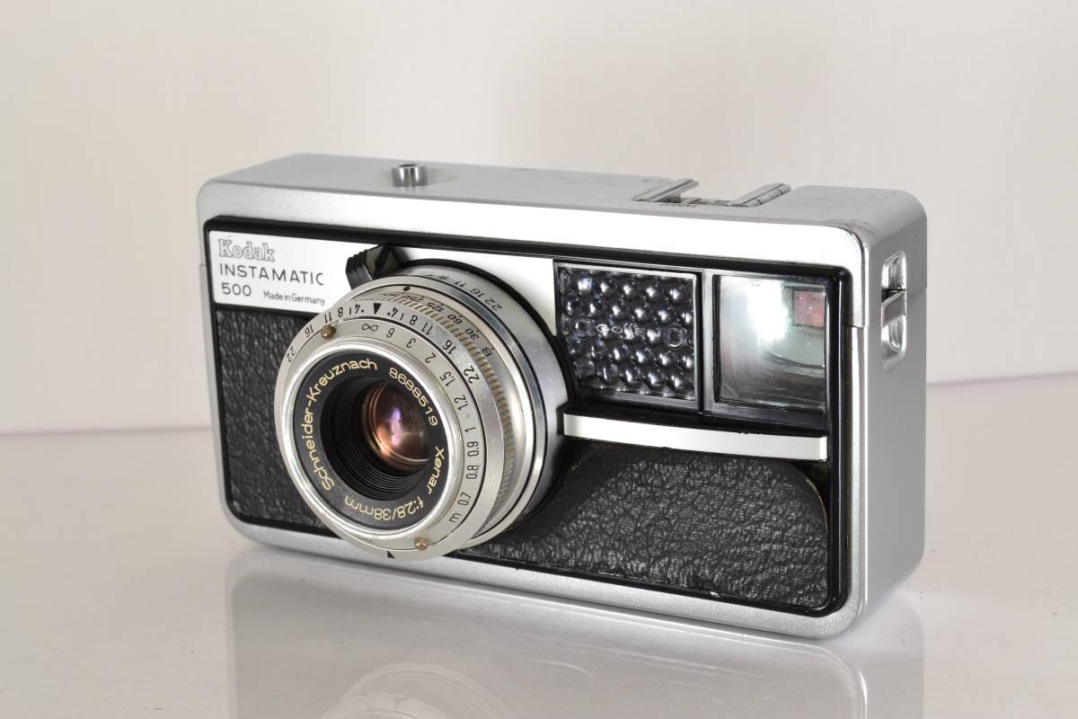 ★激レア特上美品★ コダック インスタマチック Kodak INSTAMATIC 500 38mm F2.8 ★露出計作動★ #147