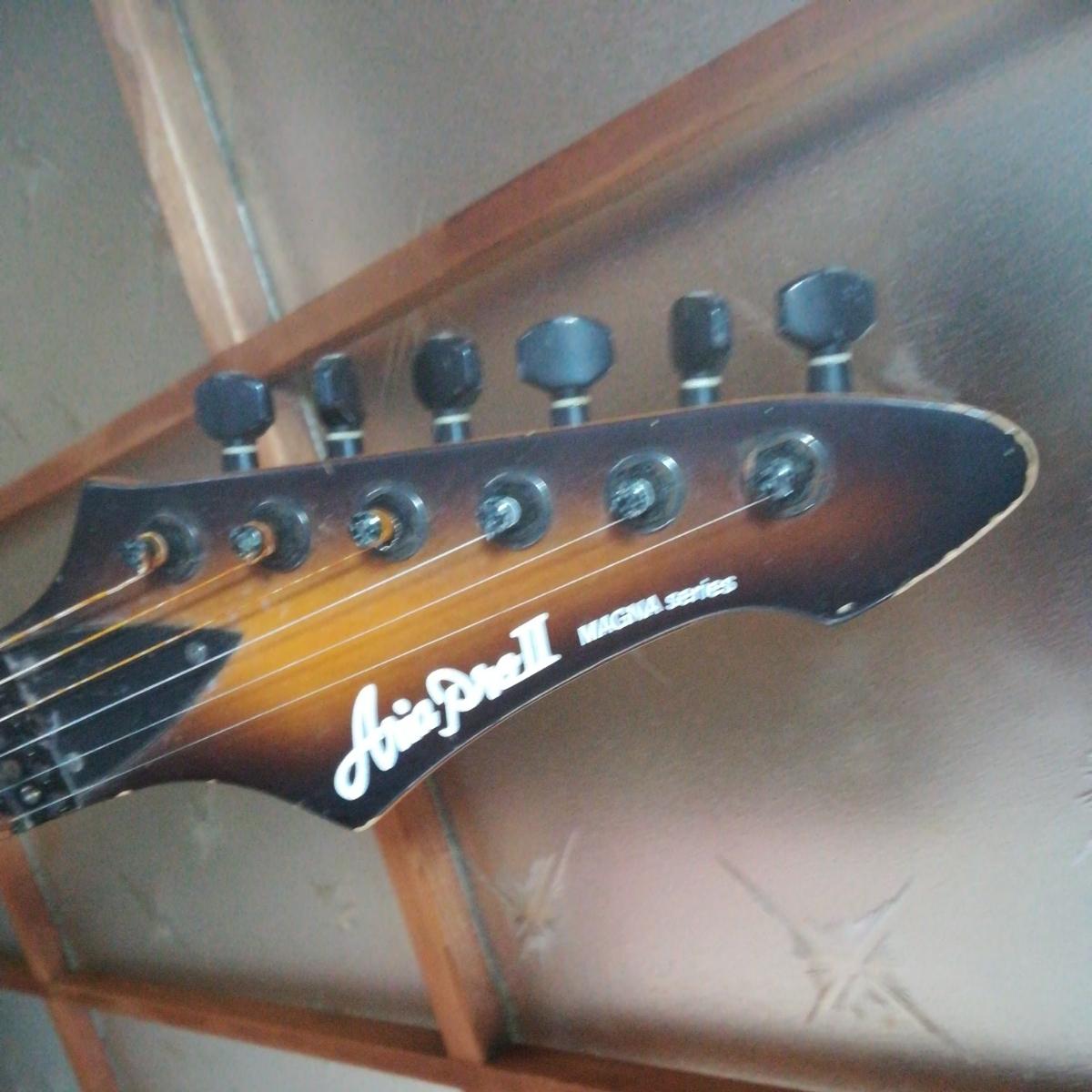 エレキギター ania pne2 magna ジャンク_画像2