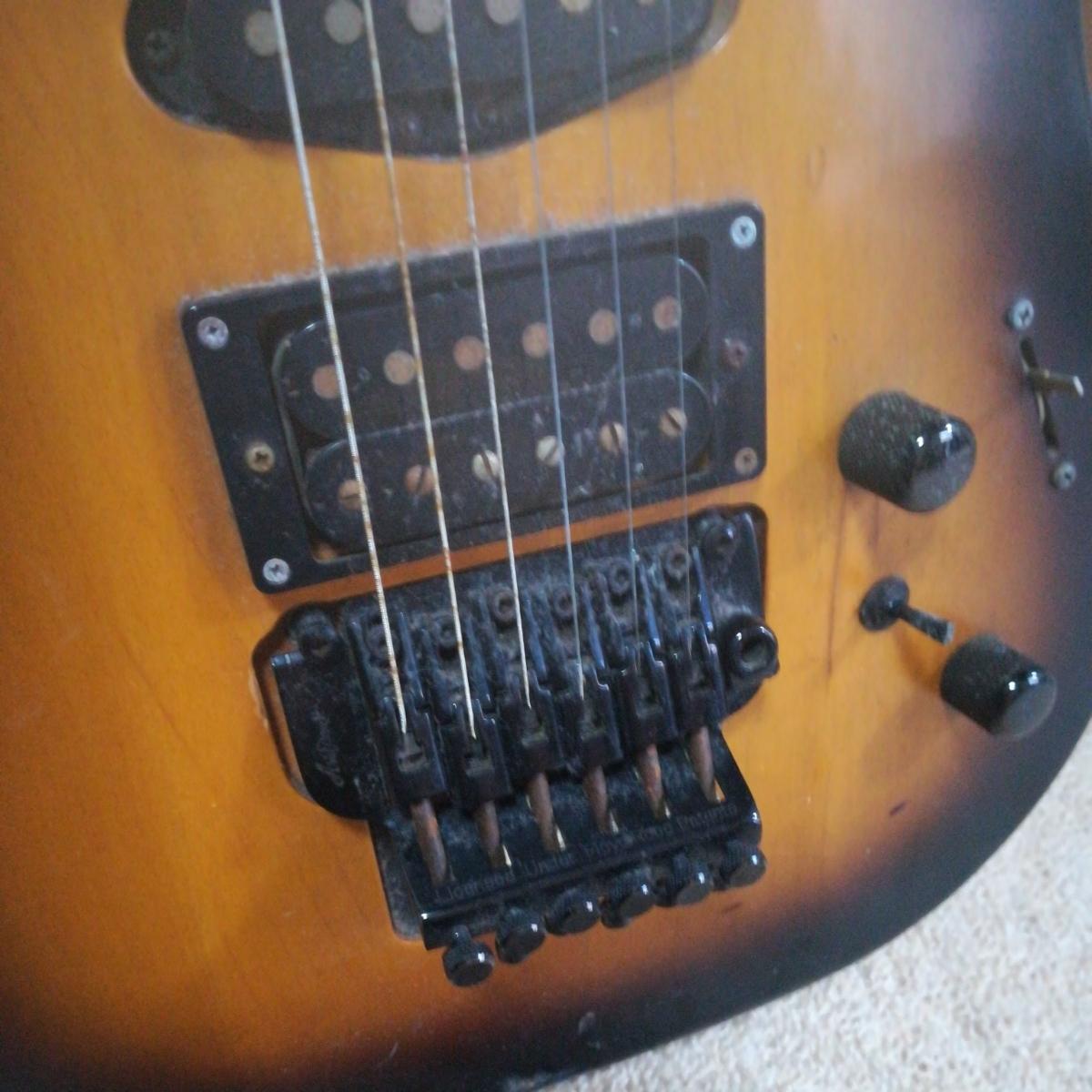 エレキギター ania pne2 magna ジャンク_画像4