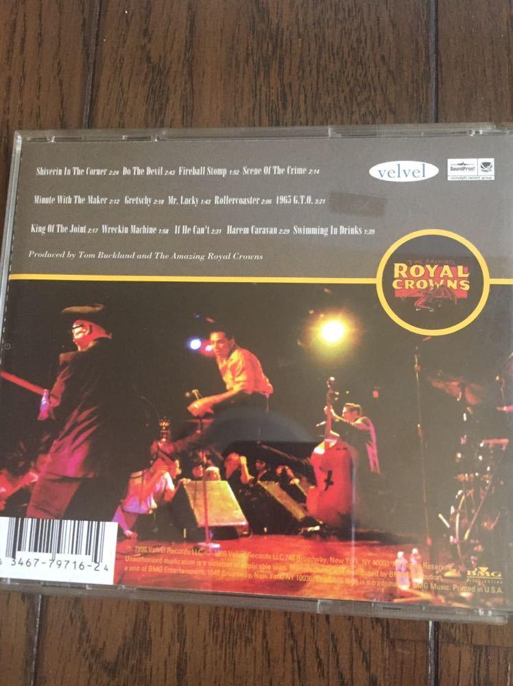 THE AMAZING ROYAL CROWNS パンカビリー ロカビリー サイコビリー rockabilly CD