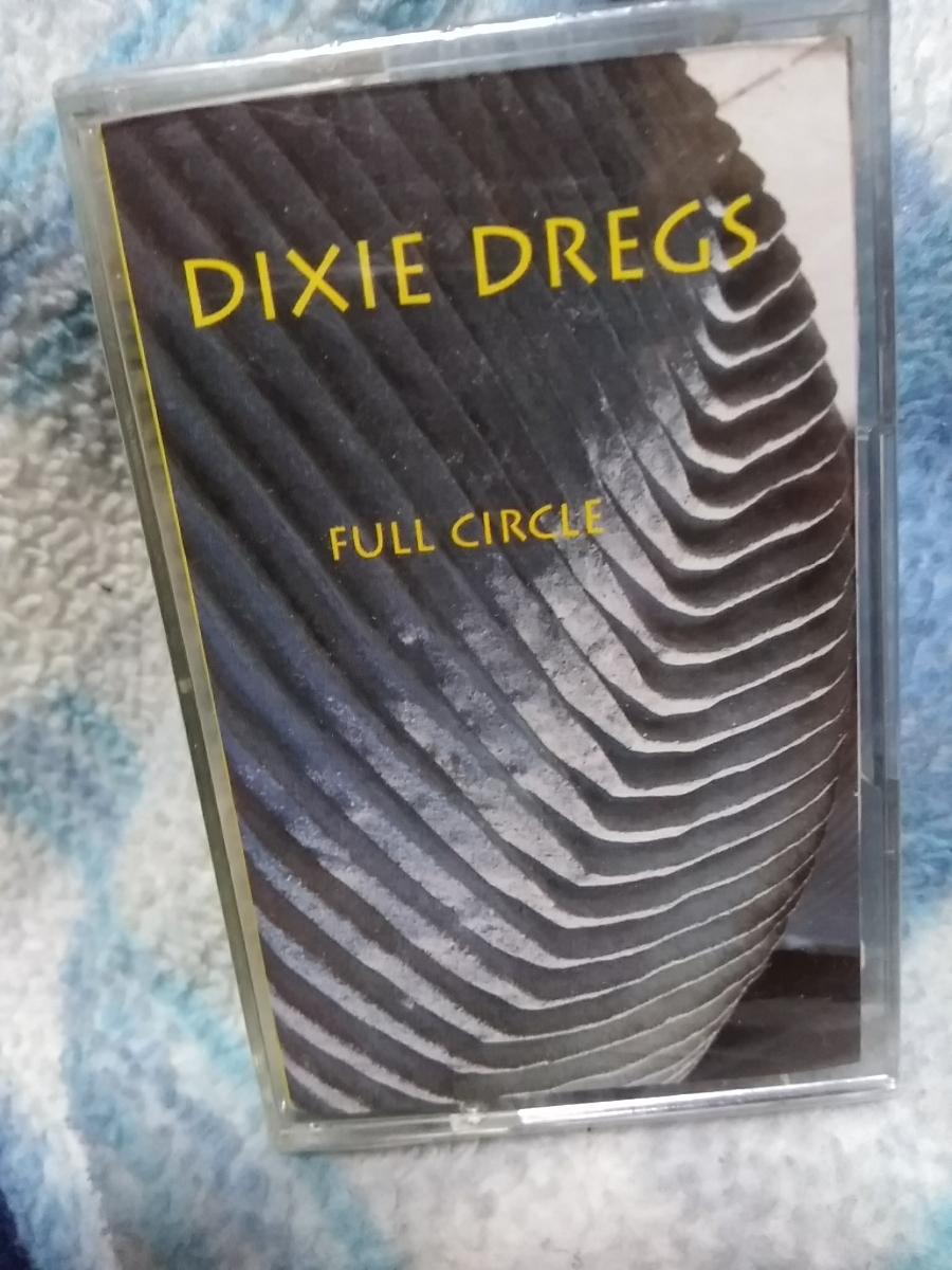 未開封 Dixie Dregs Full Circle カセットテープ 輸入版 Steve Morse Rod Morgenstein Southern Rock_画像1