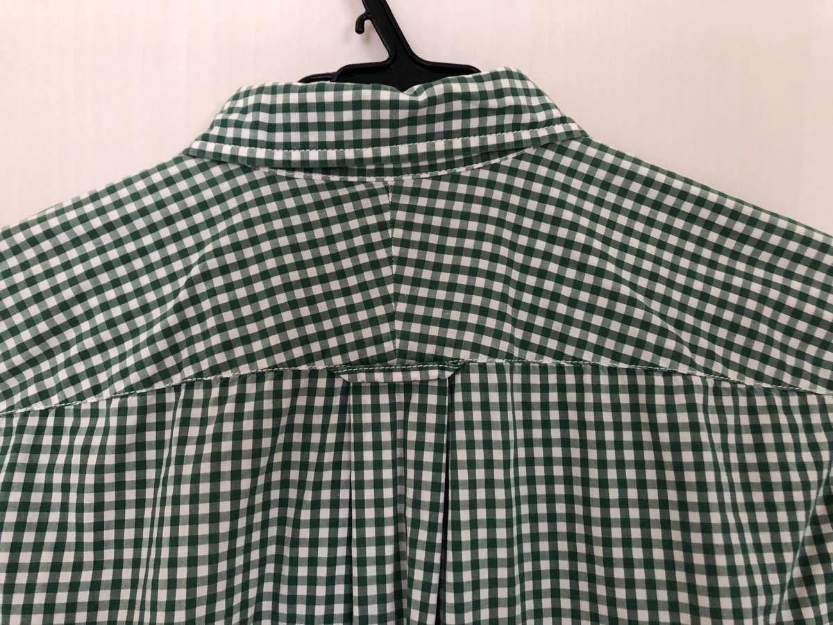 ★コムデギャルソン Sサイズ ブロックチェックロングスリーブシャツ ★ 中古品_画像4