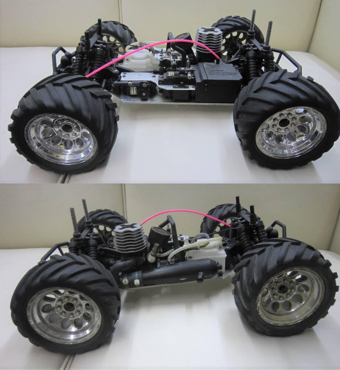 ■ジャンク品☆HPI 1/10 ライトニング GT10 SPORT RTR エンジンRC★部品取り等に_画像4
