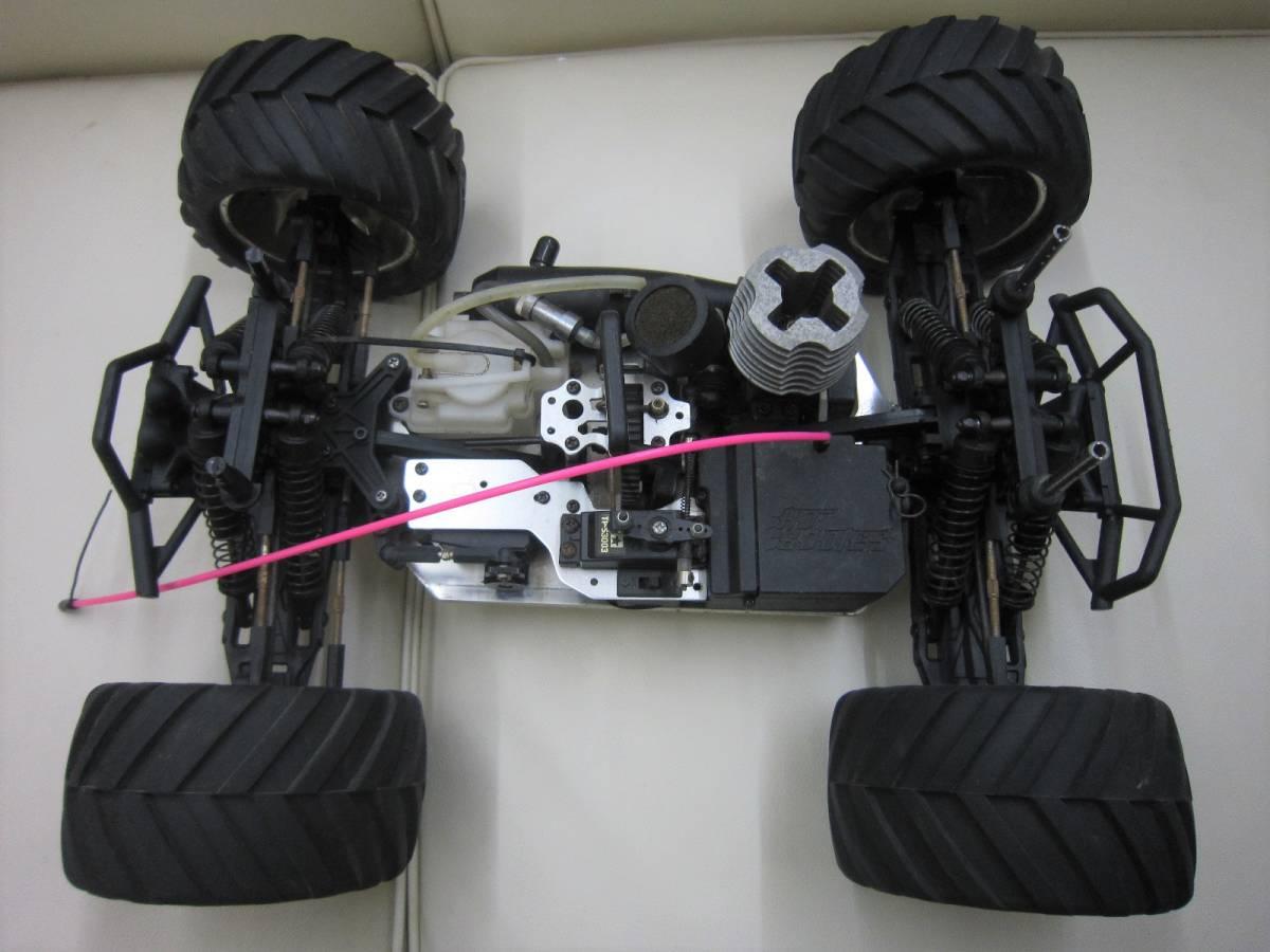 ■ジャンク品☆HPI 1/10 ライトニング GT10 SPORT RTR エンジンRC★部品取り等に_画像3