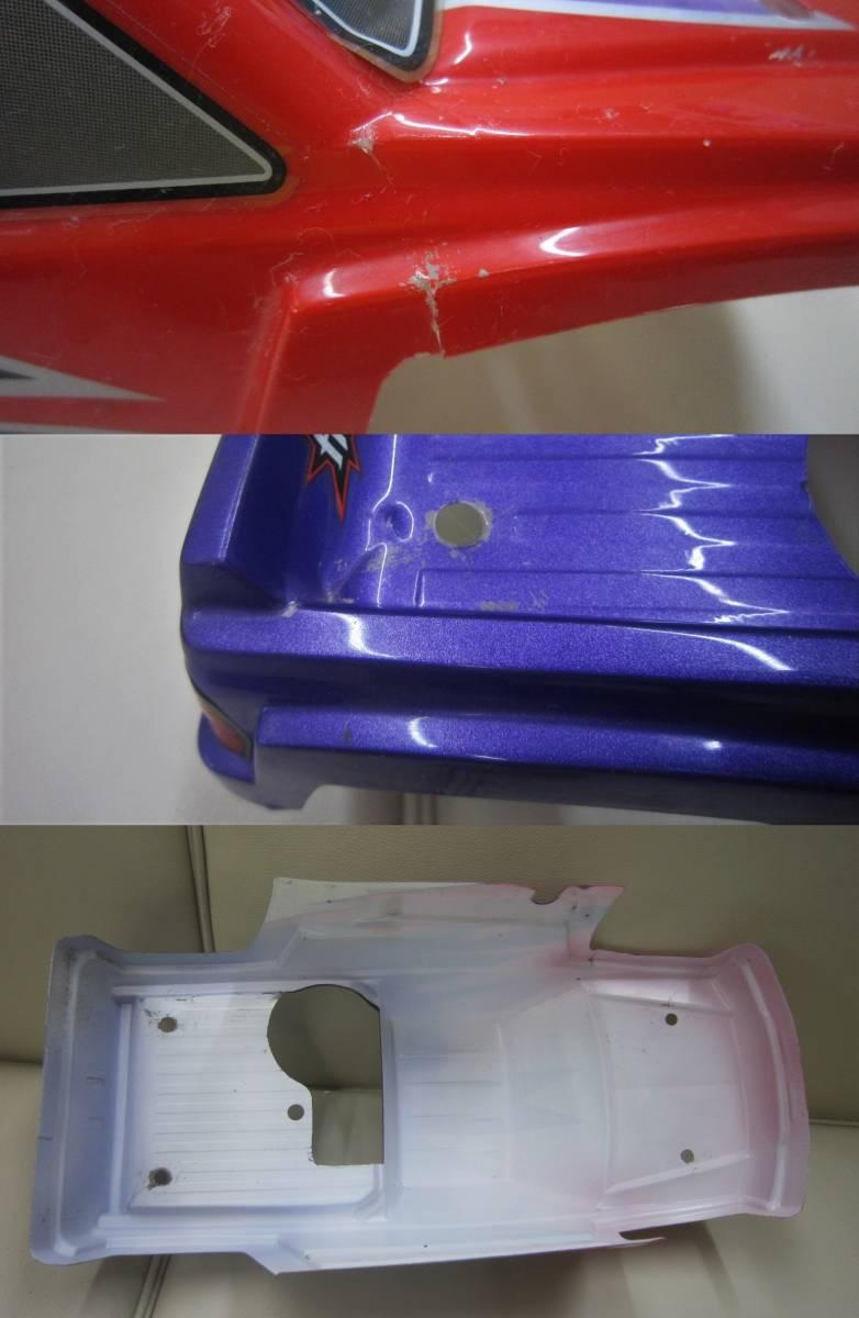 ■ジャンク品☆HPI 1/10 ライトニング GT10 SPORT RTR エンジンRC★部品取り等に_画像7
