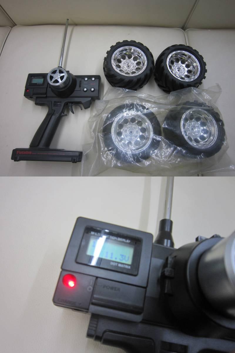 ■ジャンク品☆HPI 1/10 ライトニング GT10 SPORT RTR エンジンRC★部品取り等に_画像10