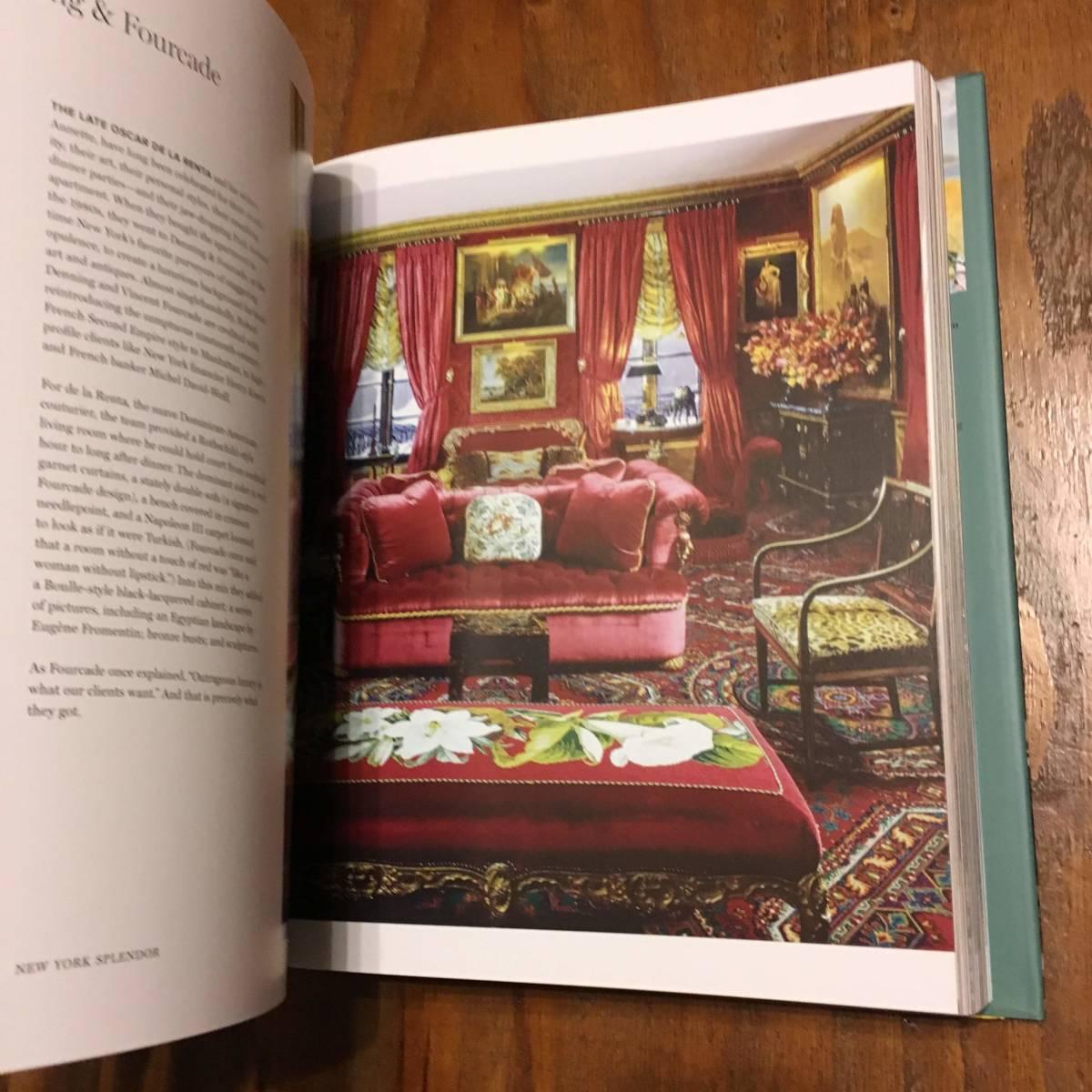 2018年 New York Splendor The City's Most Memorable Rooms Wendy Moonan Robert A.M Stern Rizzoli ニューヨーク luxury 部屋 デザイン_画像7