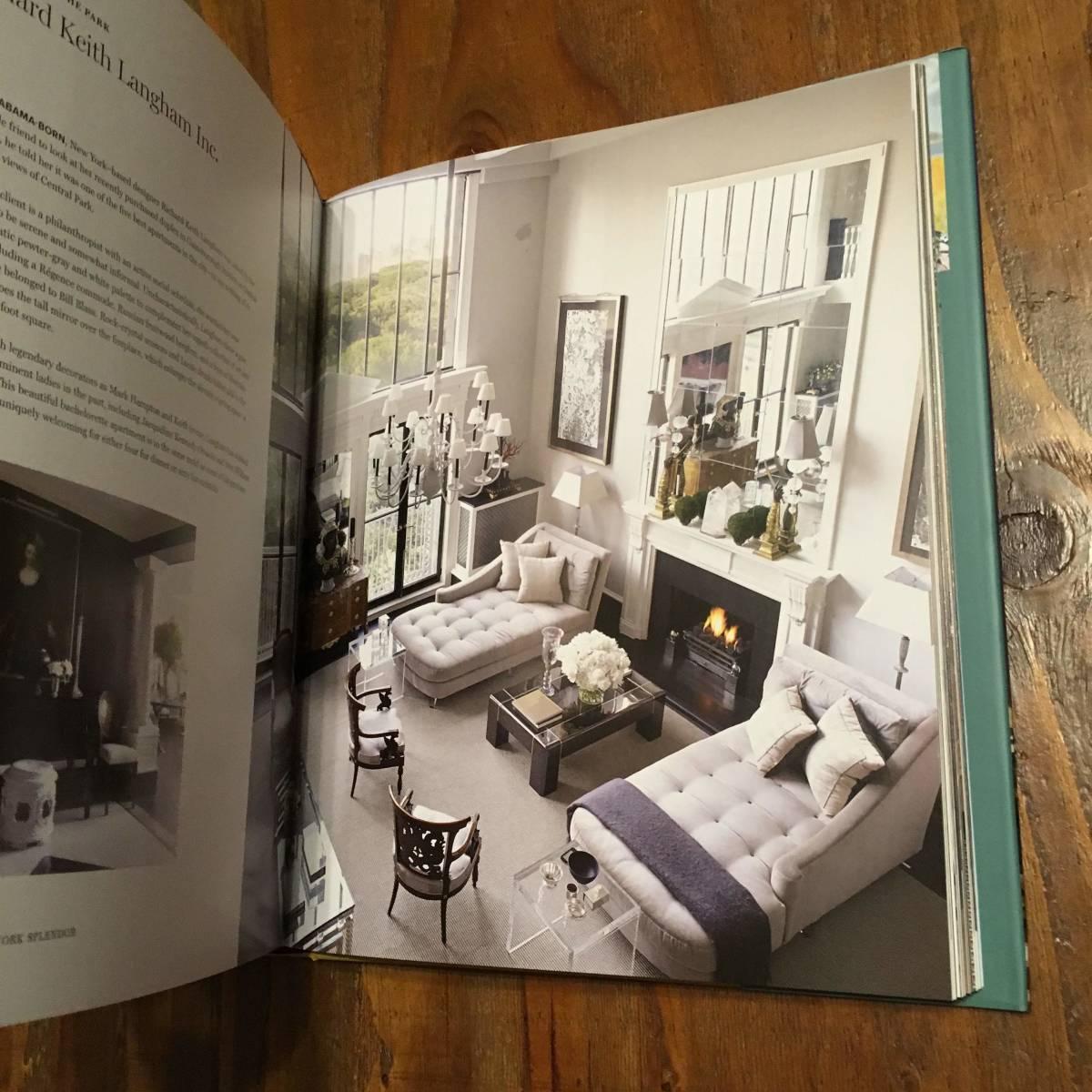 2018年 New York Splendor The City's Most Memorable Rooms Wendy Moonan Robert A.M Stern Rizzoli ニューヨーク luxury 部屋 デザイン_画像8