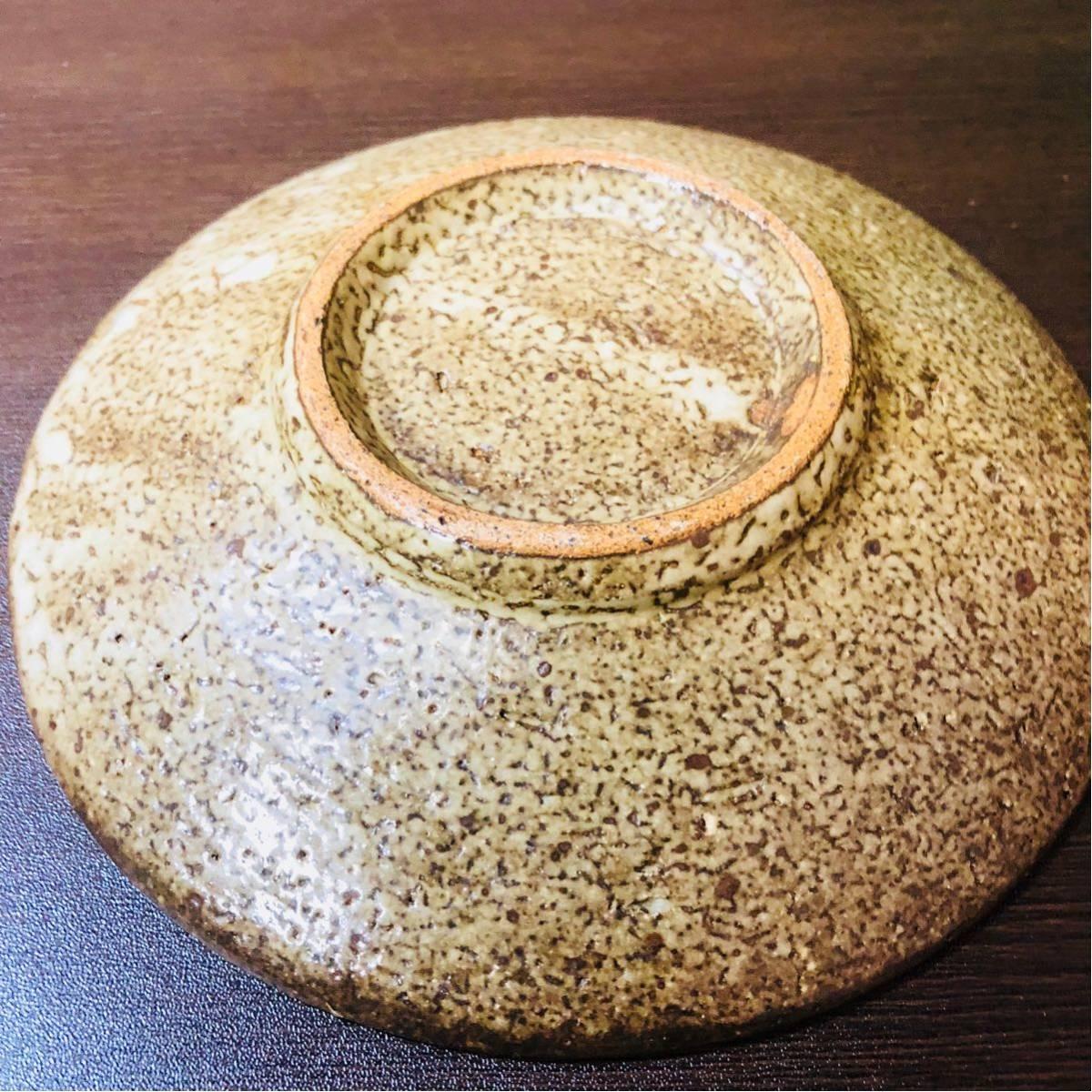 人間国宝 島岡達三 象嵌皿 初期に製作したもの_画像5