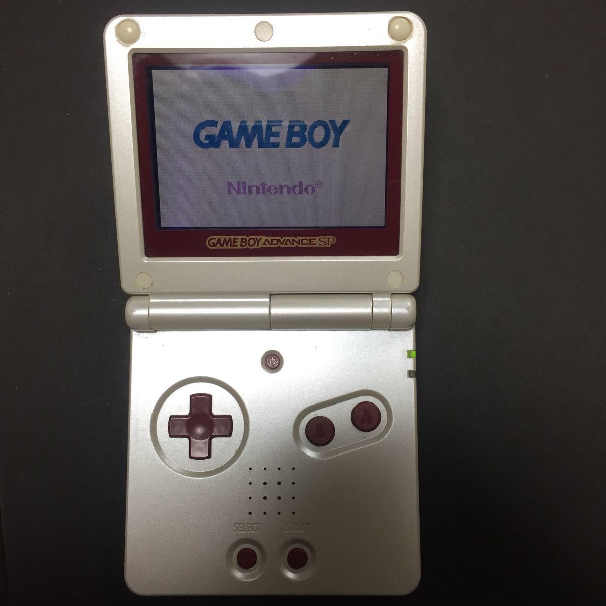 ゲームボーイアドバンスSP ファミコンカラー 送料無料 即決_画像2