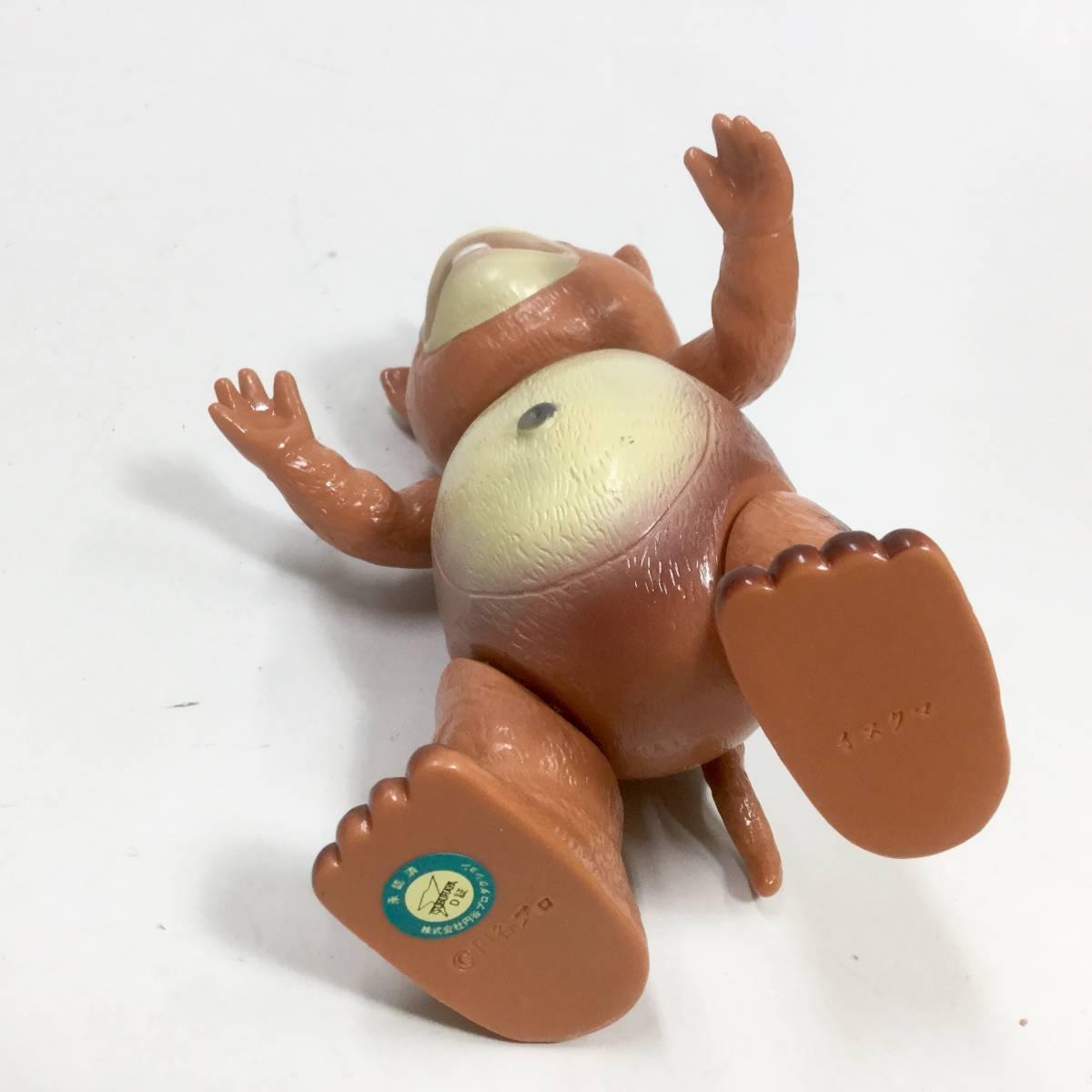 ブースカ ソフビ スタンダードサイズ イヌクマ フィギュア 1960年代 キャラクター レトロ ビンテージ 円谷プロ 快獣 怪獣 _画像8