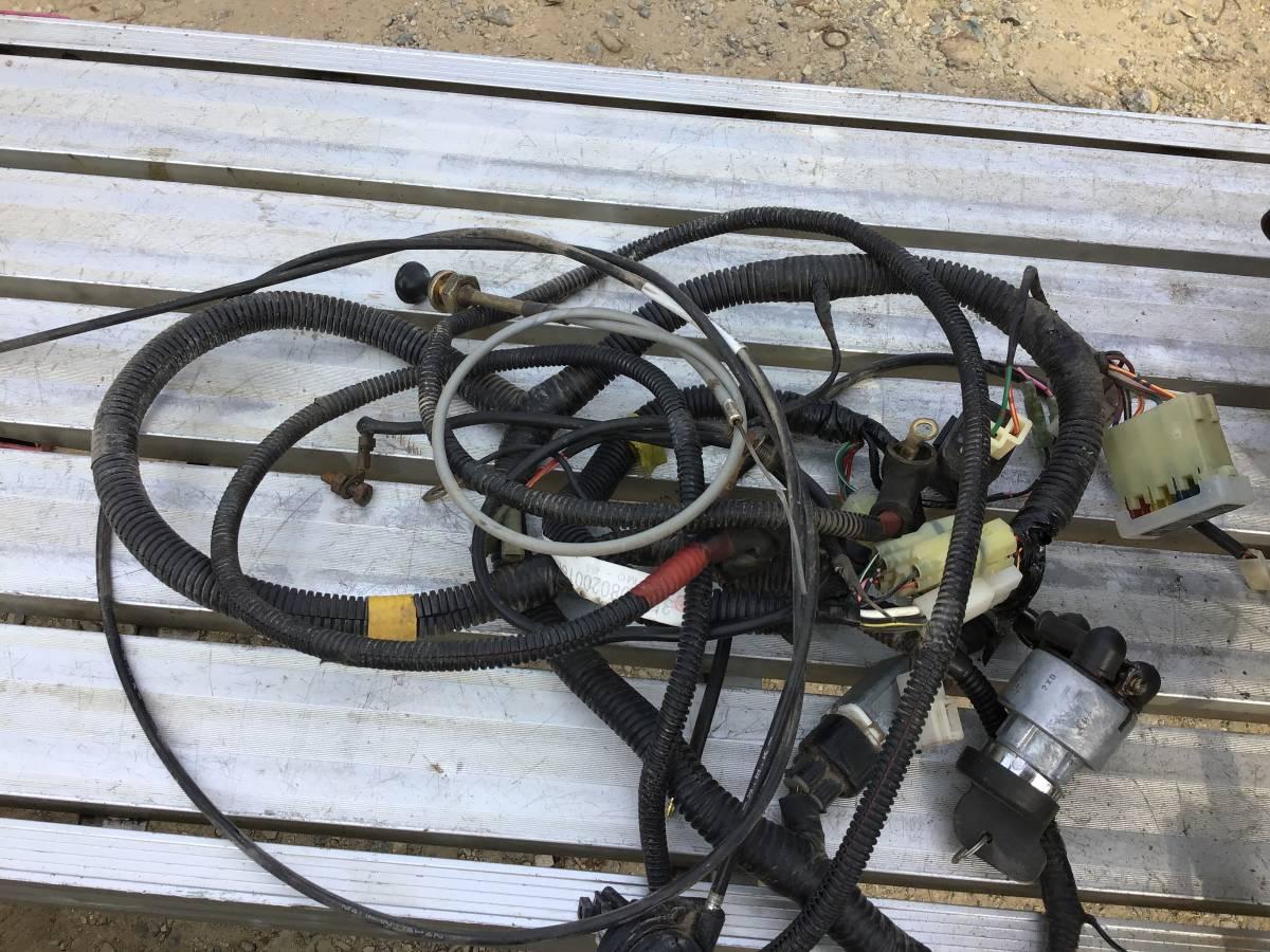三菱 GM301L 10馬力 ガソリンエンジン セル付 中古動作品_画像5