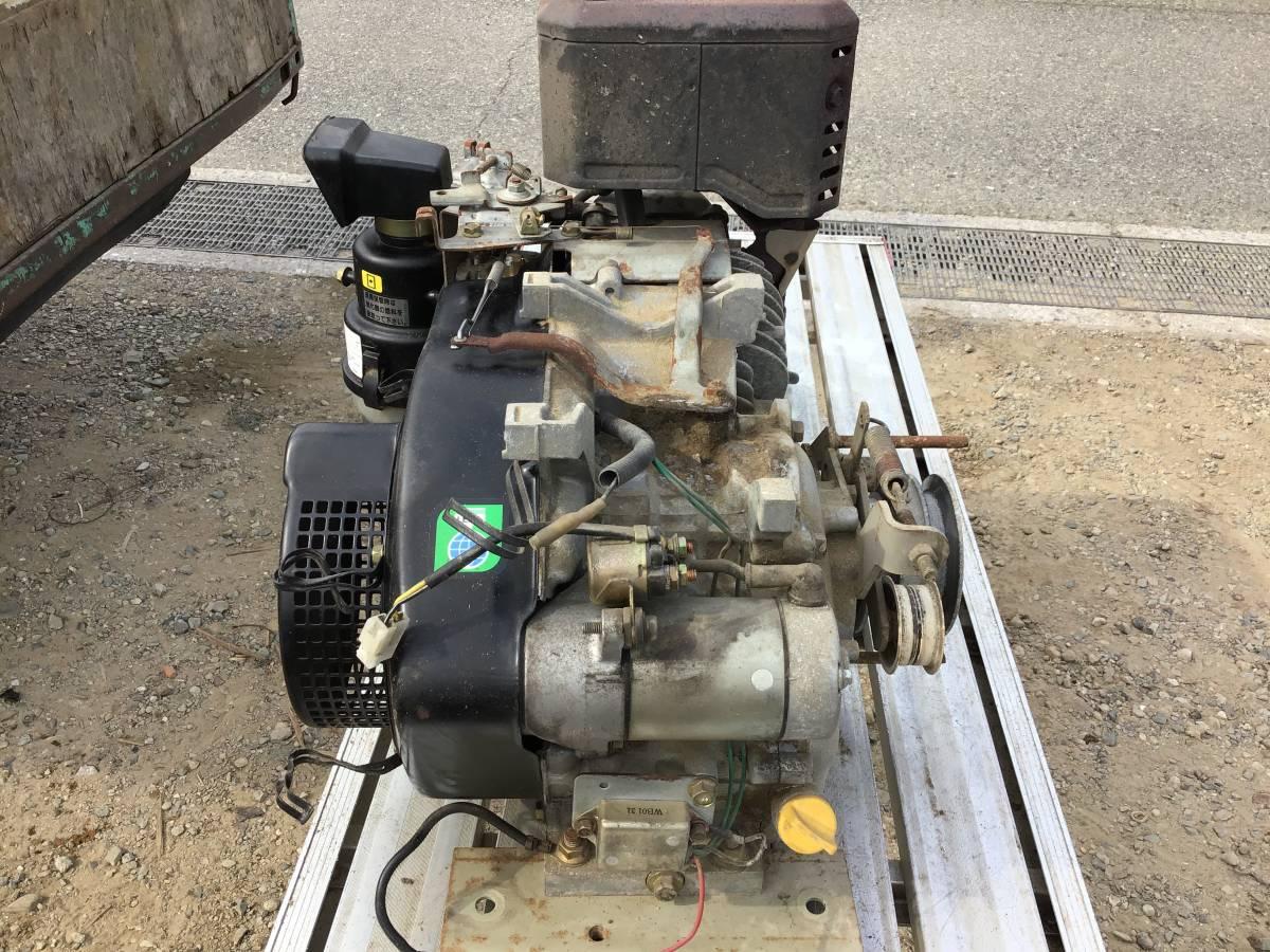 三菱 GM301L 10馬力 ガソリンエンジン セル付 中古動作品_画像3