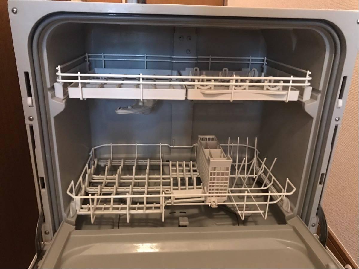 Panasonic パナソニック 食器洗い乾燥機 NP-TA1-W 2018年製 食洗機_画像2