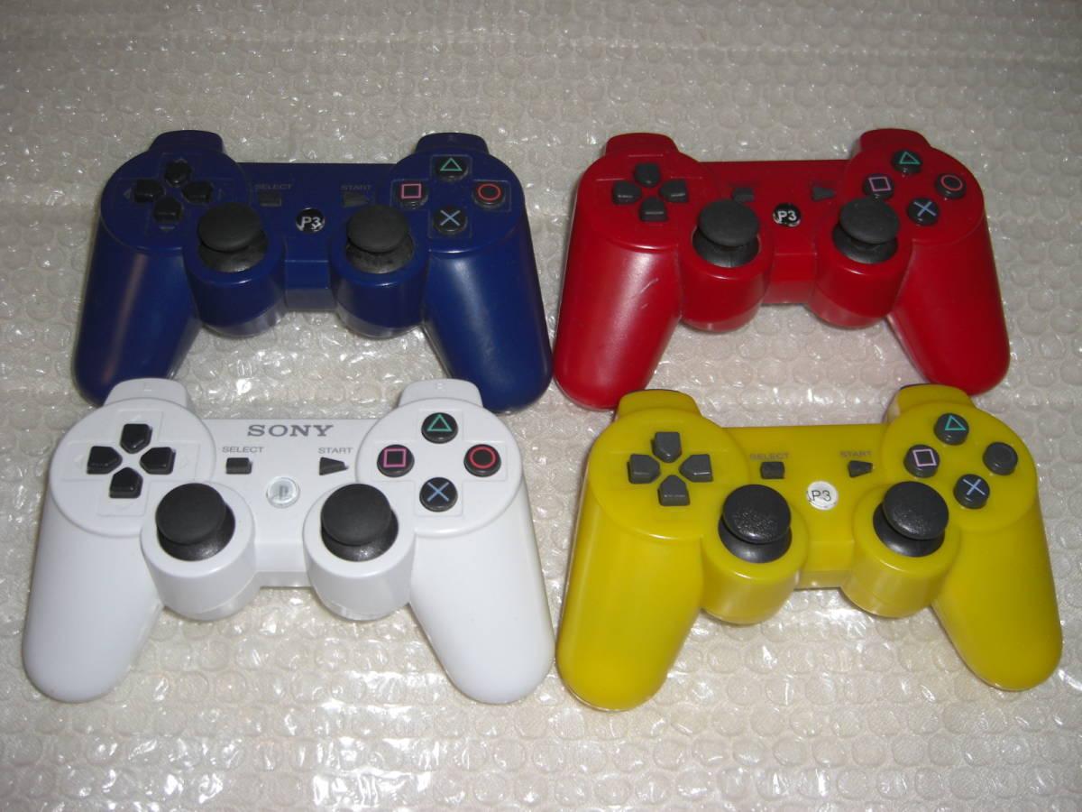 1 ジャンク まとめ PS3本体4台 コントローラー4個 2000A 2500B CECHL00 CECHA00_画像9