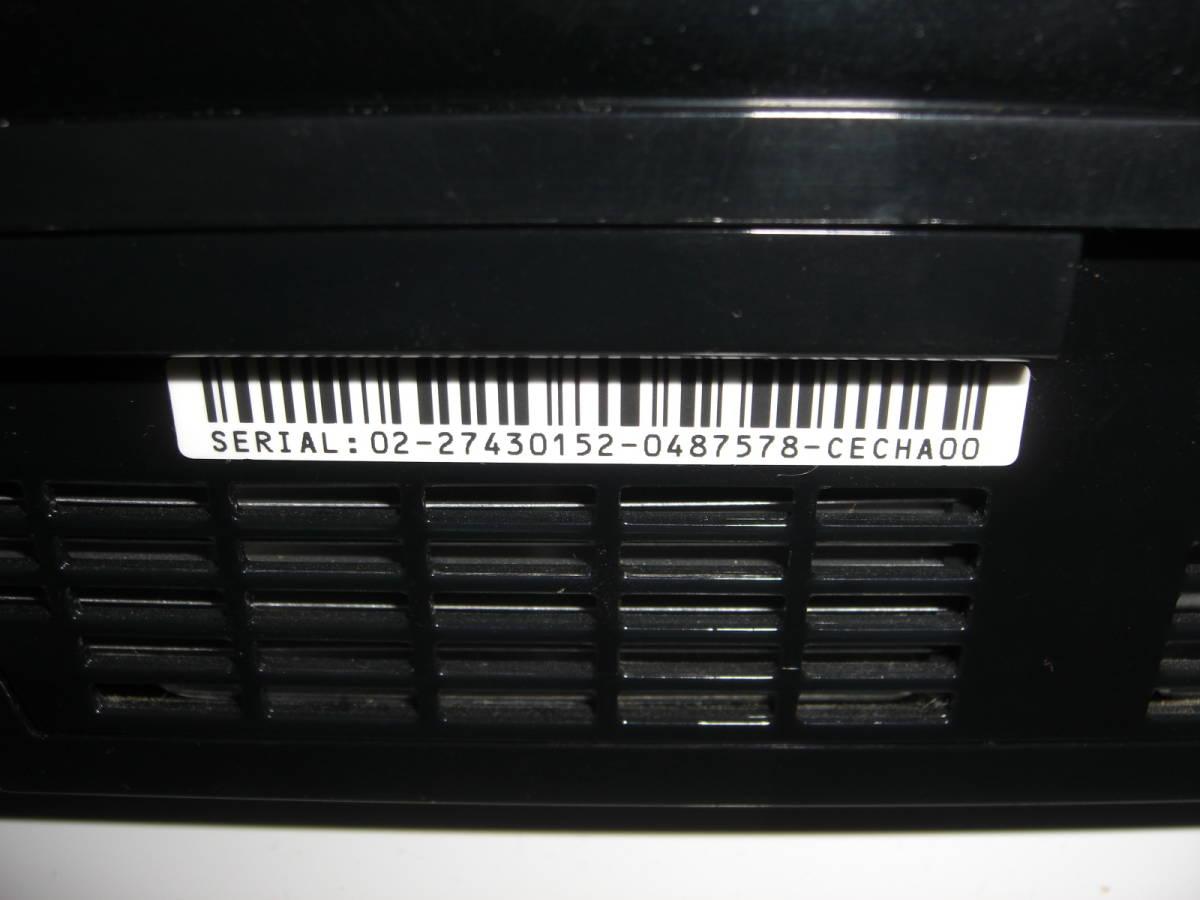 1 ジャンク まとめ PS3本体4台 コントローラー4個 2000A 2500B CECHL00 CECHA00_画像5