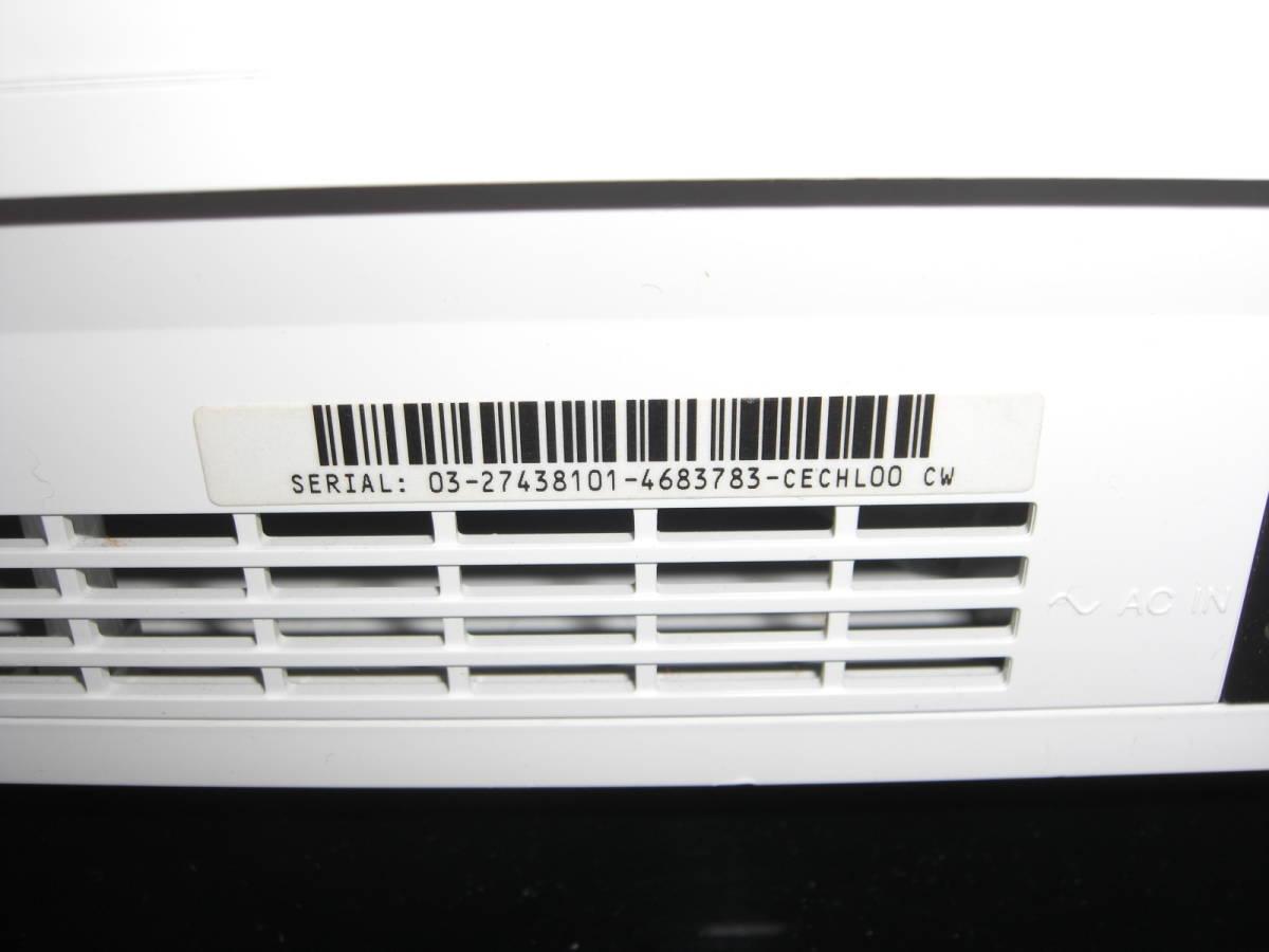 2 ジャンク まとめ PS3本体4台 コントローラー4個 2000A 2500B CECHL00黒 CECHL00白_画像5