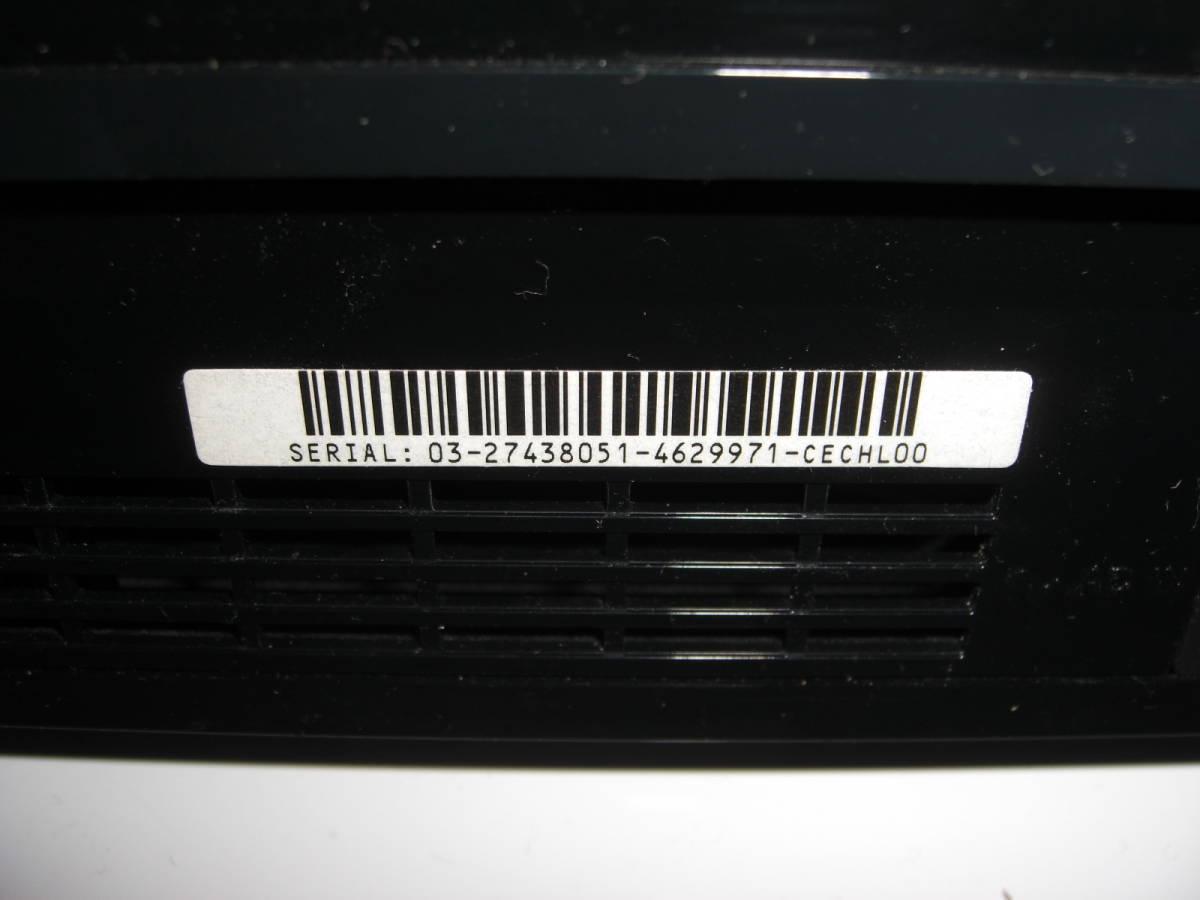 2 ジャンク まとめ PS3本体4台 コントローラー4個 2000A 2500B CECHL00黒 CECHL00白_画像6
