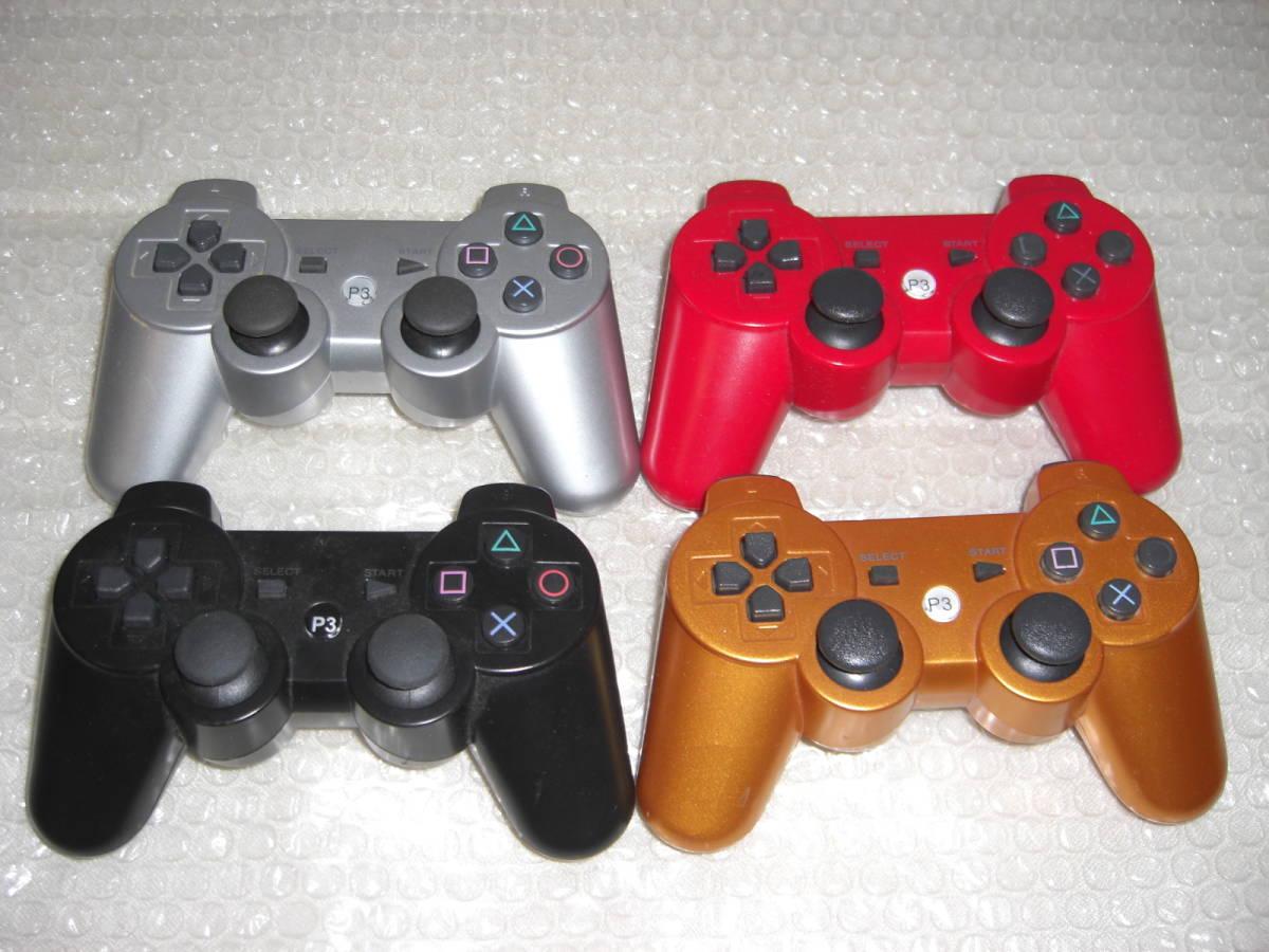 2 ジャンク まとめ PS3本体4台 コントローラー4個 2000A 2500B CECHL00黒 CECHL00白_画像8