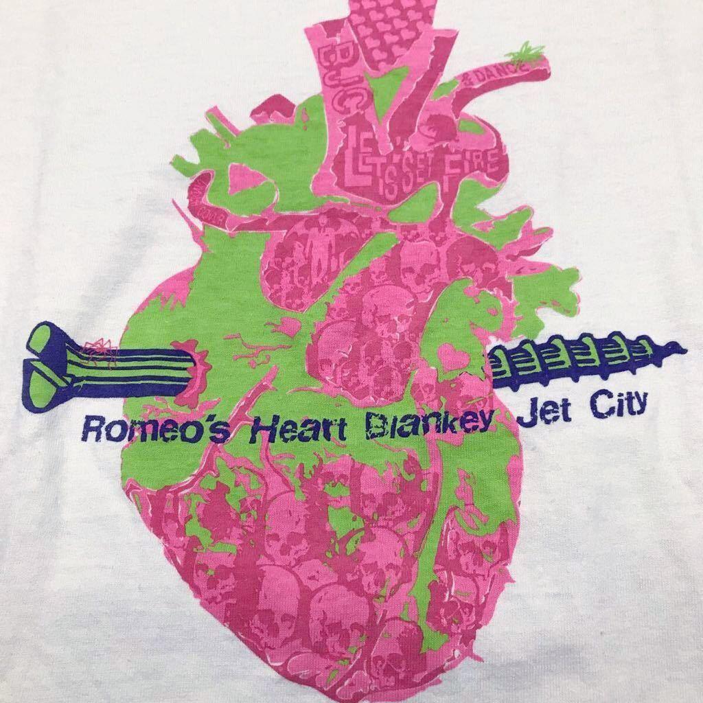 ブランキージェットシティ × UNDERCOVER ロメオの心臓 Tシャツ blankey 浅井健一 照井利幸 中村達也 アンダーカバー_画像3
