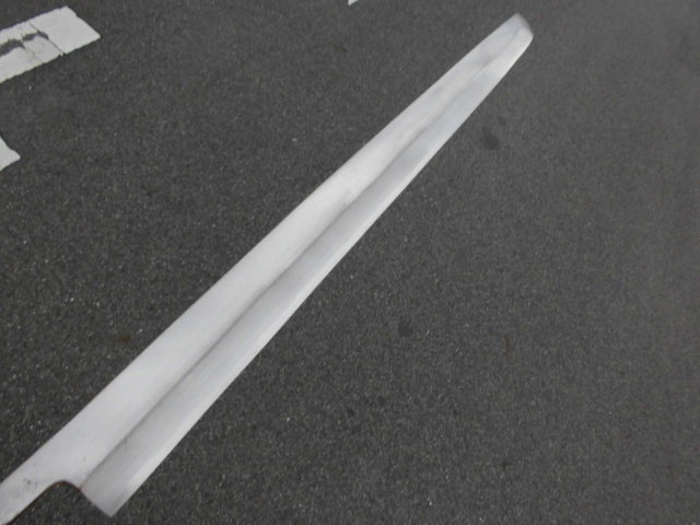 超大型・マグロの解体胴切り包丁・弐尺五寸・750㍉_画像9