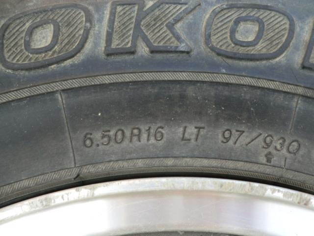ジムニー JA11 純正 アルミホイル & ジオランダーMT+ 6.50R16 SJ30 JA71 JA11 JA12 JA22 JB23 MTタイヤ 4本セット_画像7