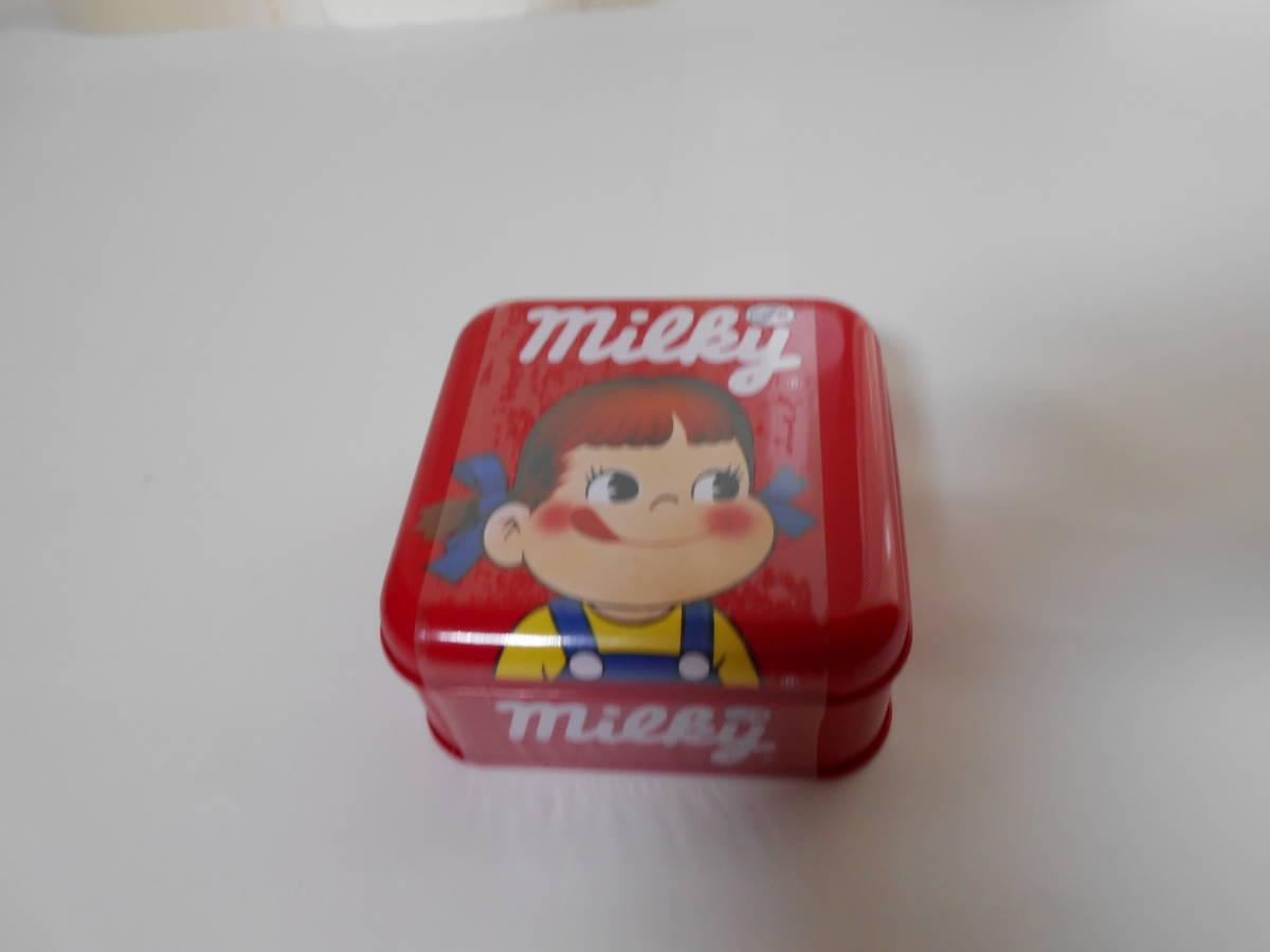 ☆不二家☆ペコちゃん☆ milky ペコちゃん ミルキー缶 『新品 未開封』