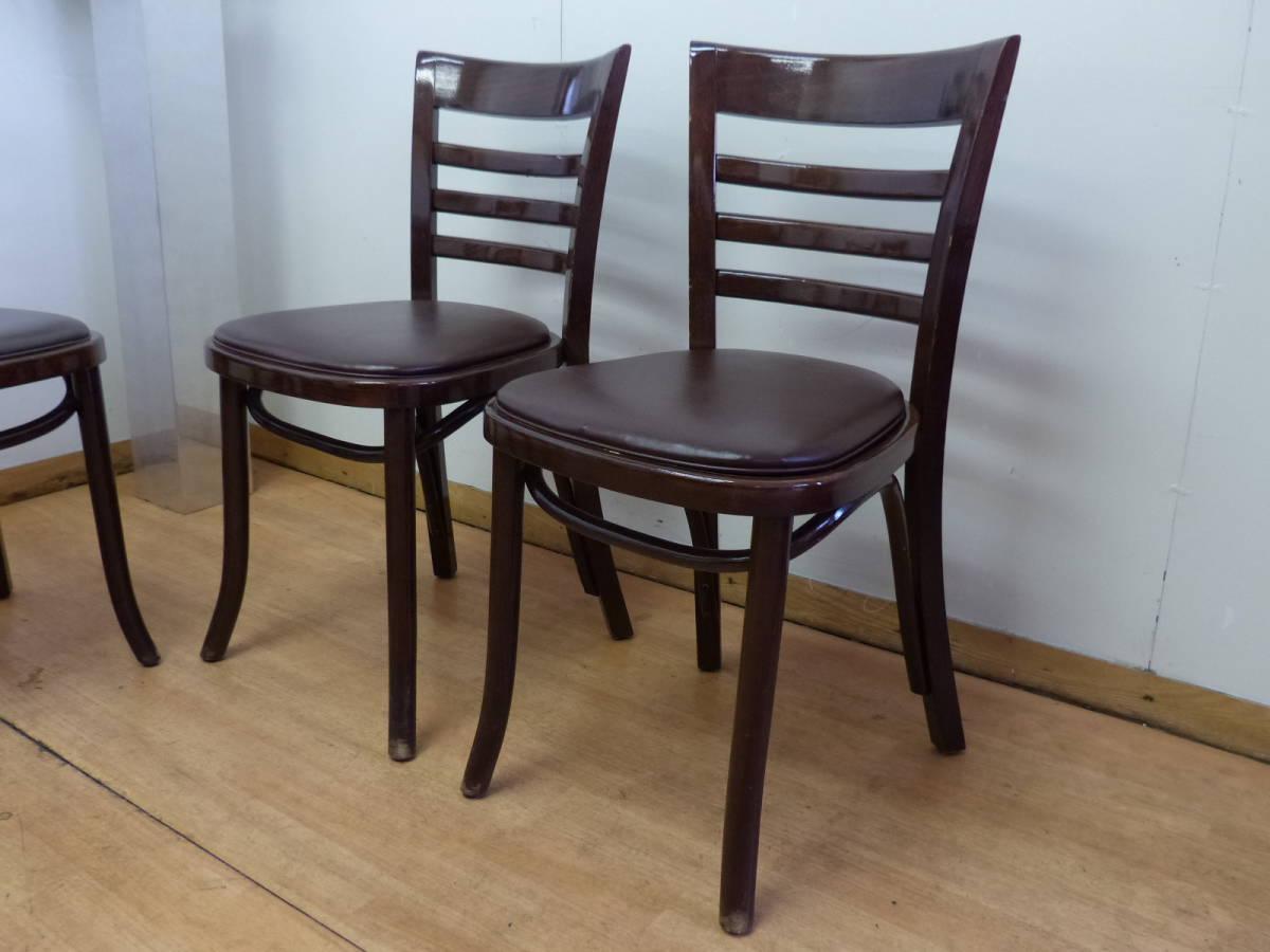 ⑥Oliver/オリバー■業務用椅子 チェア 4脚セット■ポーランド製 曲木■カフェ・飲食・レストラン■在庫多数あり!_画像2