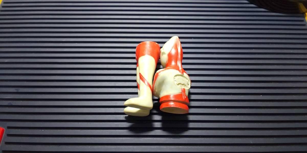 希少 当時物 ウルトラマン ブルマァク製 ジャンク品 // 帰ってきたウルトラマン BULLMARK マルサン バンダイ 円谷プロ ソフビ_画像3