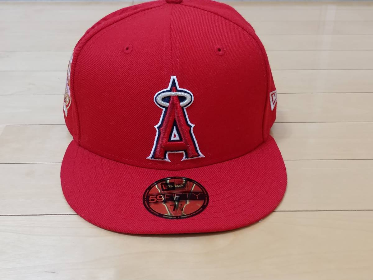 新品! 7・7/8(62.5cm) ニューエラ NEW ERA ロサンゼルス・エンゼルス MLB 大谷 翔平 59FIFTY  送料無料!_画像6