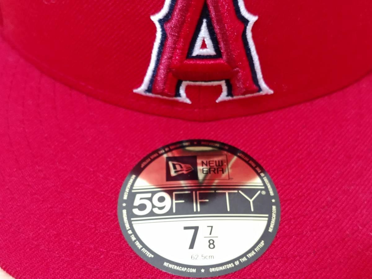 新品! 7・7/8(62.5cm) ニューエラ NEW ERA ロサンゼルス・エンゼルス MLB 大谷 翔平 59FIFTY  送料無料!_画像5