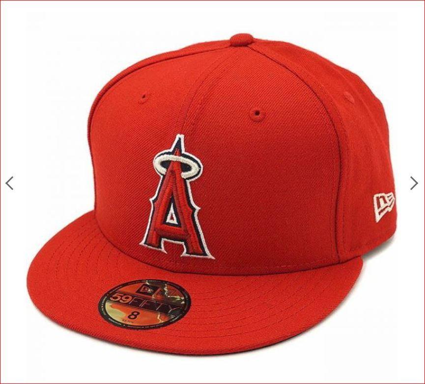 新品! 7・7/8(62.5cm) ニューエラ NEW ERA ロサンゼルス・エンゼルス MLB 大谷 翔平 59FIFTY  送料無料!