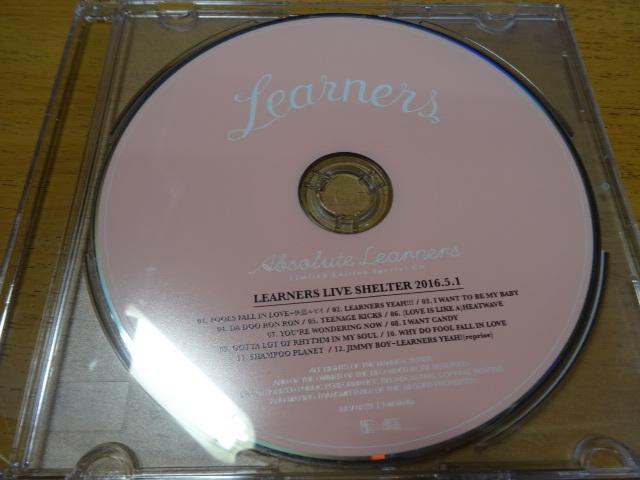 限定1枚 ライブ 非売品 LEARNERS ラーナーズ ロカビリー ガールズ ケントス 紗羅マリー パーティーバンド ロンドンナイト パワーポップ
