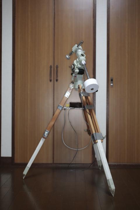 タカハシ P2赤道儀、モータードライブ、AMD-1モータードライブ、カメラ三脚アダプタ