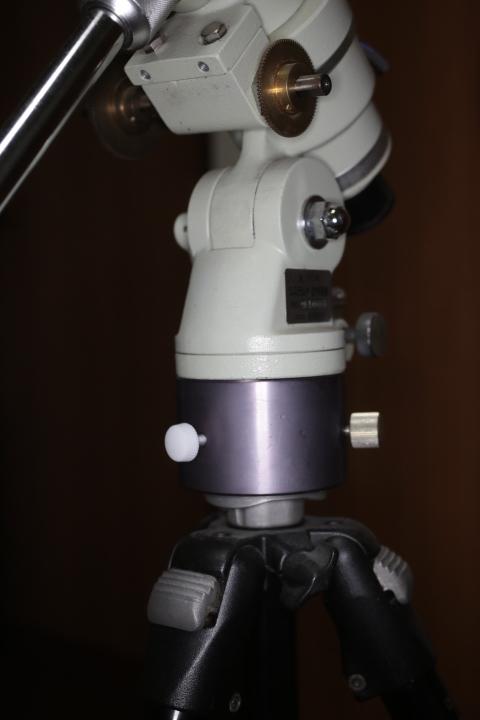 タカハシ P2赤道儀、モータードライブ、AMD-1モータードライブ、カメラ三脚アダプタ_画像7
