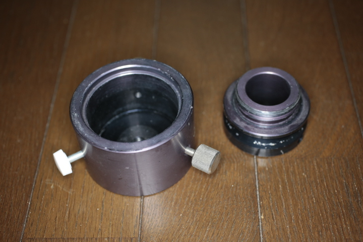 タカハシ P2赤道儀、モータードライブ、AMD-1モータードライブ、カメラ三脚アダプタ_画像9