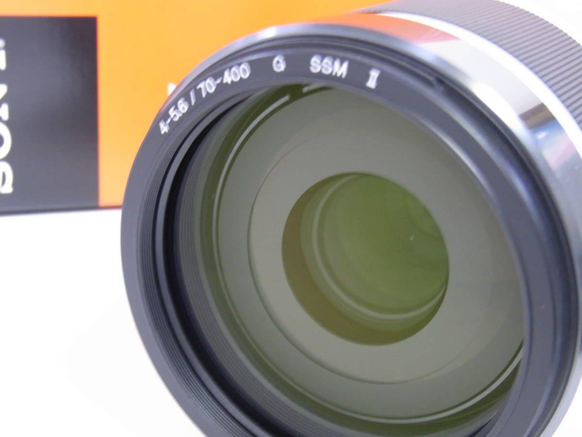 【美品】SONY 70-400mm F4-5.6 G SSM II SAL70400G2_画像7
