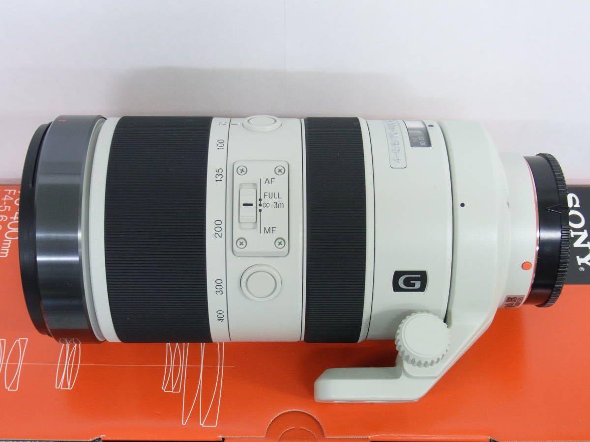 【美品】SONY 70-400mm F4-5.6 G SSM II SAL70400G2_画像3