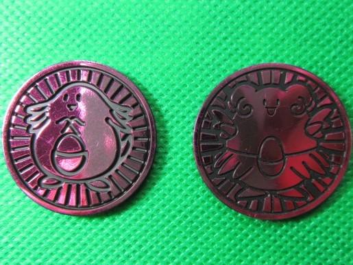 ポケモンカード コイン ラッキー ハピナス 2個セット 未使用品