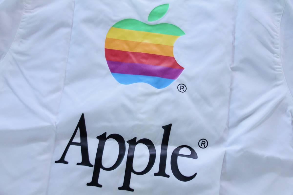 デッドストック 激レア! Apple Computer アップル コンピューター レインボーロゴ コーチジャケット 非売品 ノベルティー Think Different_画像5