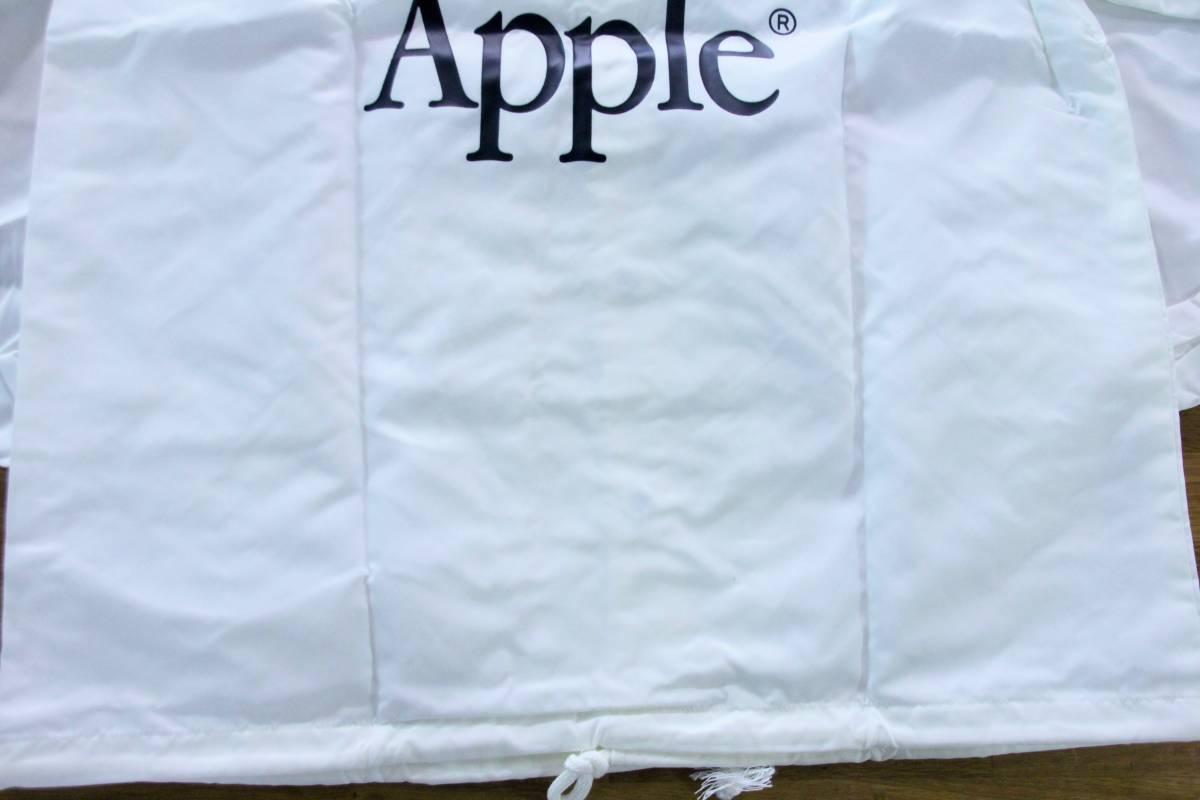 デッドストック 激レア! Apple Computer アップル コンピューター レインボーロゴ コーチジャケット 非売品 ノベルティー Think Different_画像8