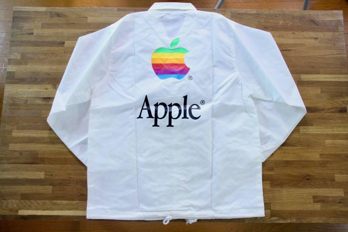 デッドストック 激レア! Apple Computer アップル コンピューター レインボーロゴ コーチジャケット 非売品 ノベルティー Think Different_画像1