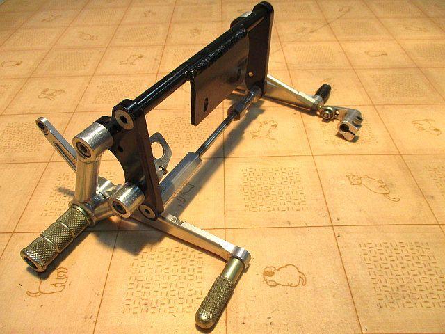 Gクラフト(Gcraft) ドラムブレーキ専用バックステップキット:モンキーゴリラ_画像10