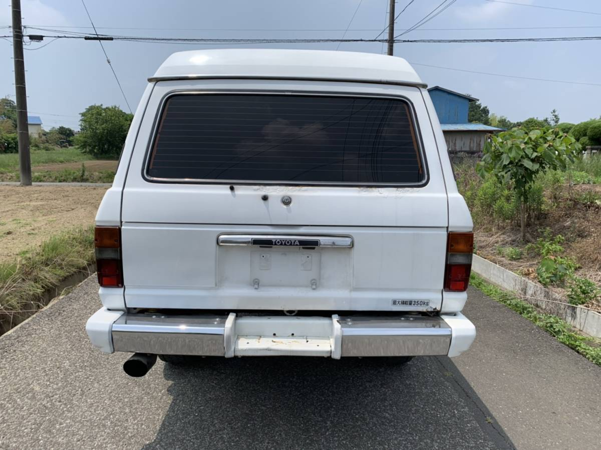 HJ61V ランドクルーザー60 ディーゼルターボ オートマ リフトアップ公認済み _画像5