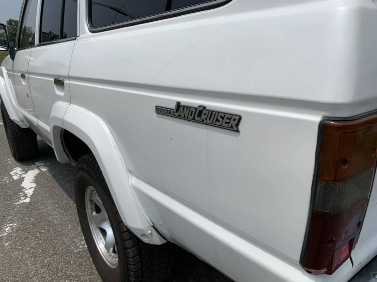 HJ61V ランドクルーザー60 ディーゼルターボ オートマ リフトアップ公認済み _画像8